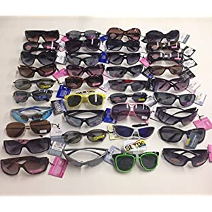 75 Pairs FOSTER GRANT Sunglasses Assorted Styles & colors