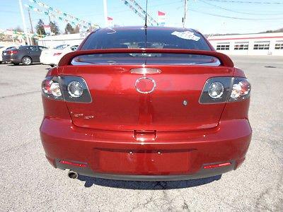 Oe Style High Wing (03-09 Mazda 3 Sedan 4 Doors Unpainted Rear Wing Spoiler OE Style No Light (CZJ-MZ009))