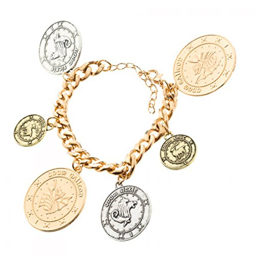 Harry Potter Coin Charm Bracelet