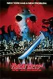 FRIDAY THE 13TH MOVIE POSTER Jason Takes Manhattan RARE