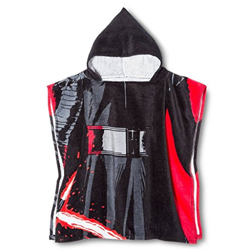 Jay Franco Star Wars Ep7 Kylo Ren Cotton Hooded Poncho, ()
