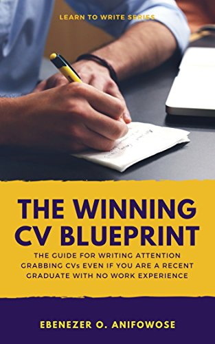 Amazon the winning cv blueprint the guide for writing the winning cv blueprint the guide for writing attention grabbing resumes and cvs even if malvernweather Image collections