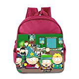 Kids South Park School Backpack Funny Baby Boys Girls School Bags Pink