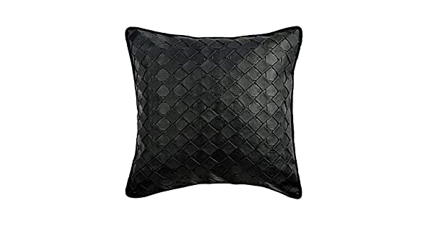 Amazon.com: The HomeCentric - Funda de almohada de piel ...
