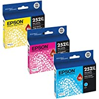 Epson T252XL220, T252XL320, T252XL420 High Yield Ink Cartridge Set Colors only (CMY)