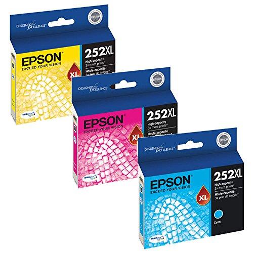 Epson T252XL220, T252XL320, T252XL420 High Yield Ink Cartrid