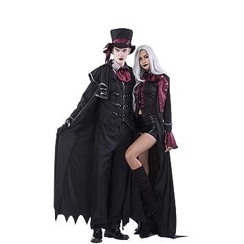 Preis vergleichen marktfähig weit verbreitet Amazon.de: Halloween Paar Kostüme, Mann und Frau Vampir ...