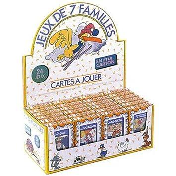 France Cartes 402434 - Juego de cartas - Juego 7 Familias ...