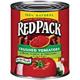 Red Pack 100% Natural Crushed Tomatoes In Thick Puree 28 oz (Pack of 12)
