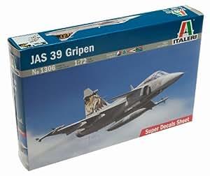 Italeri 1/72 Saab Jas 39 Gripen # 1306