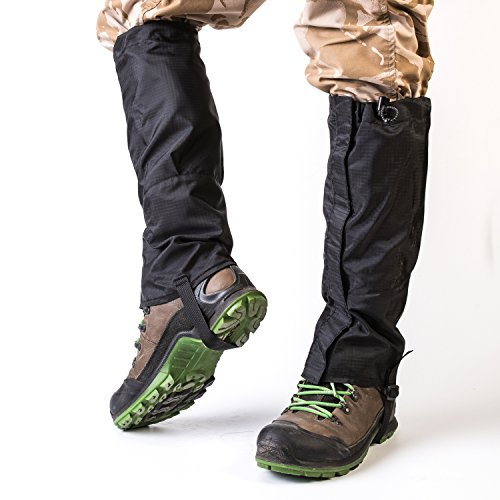 Sobike Wear Resistant Outdoor Hiking Leg Gaiter Waterproof