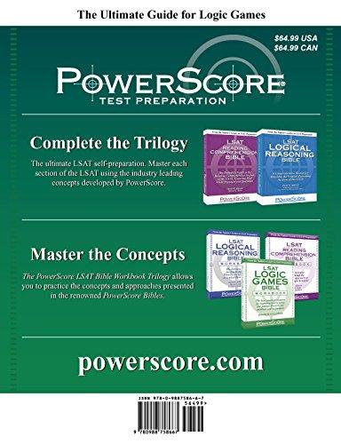 The PowerScore LSAT Logic Games Bible (Powerscore LSAT Bible) (Powerscore Test Preparation)