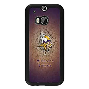 Htc one m8 Case Cheap NFL Minnesota Vikings Football Team Logo Sports Design Hard Plastic Shell Tpu Rubber Slim Fit Protective Phone Accessories Case Cover for Men