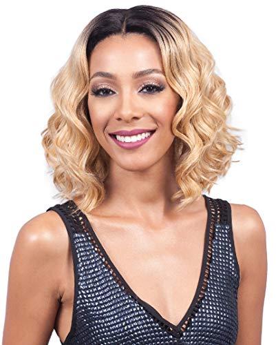Bobbi Boss Synthetic Hair Lace Front Wig MLF212 Chrissy (1B) (Boss Wig Bobbi Fago)