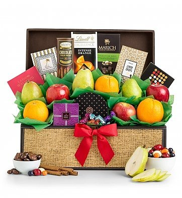 Sweet Celebration Fresh Fruit Gift Basket - Premium Gift Basket for Men or Women