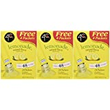 4C Totally Light 2 Go Lemonade, Sugar Free, 20-Count Boxes (Pack of 3)
