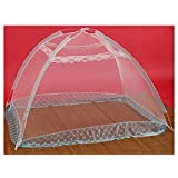 LECHEERS Pop Up Mosquito Net For Babies Mosquito Crib Netting Prevent Insects