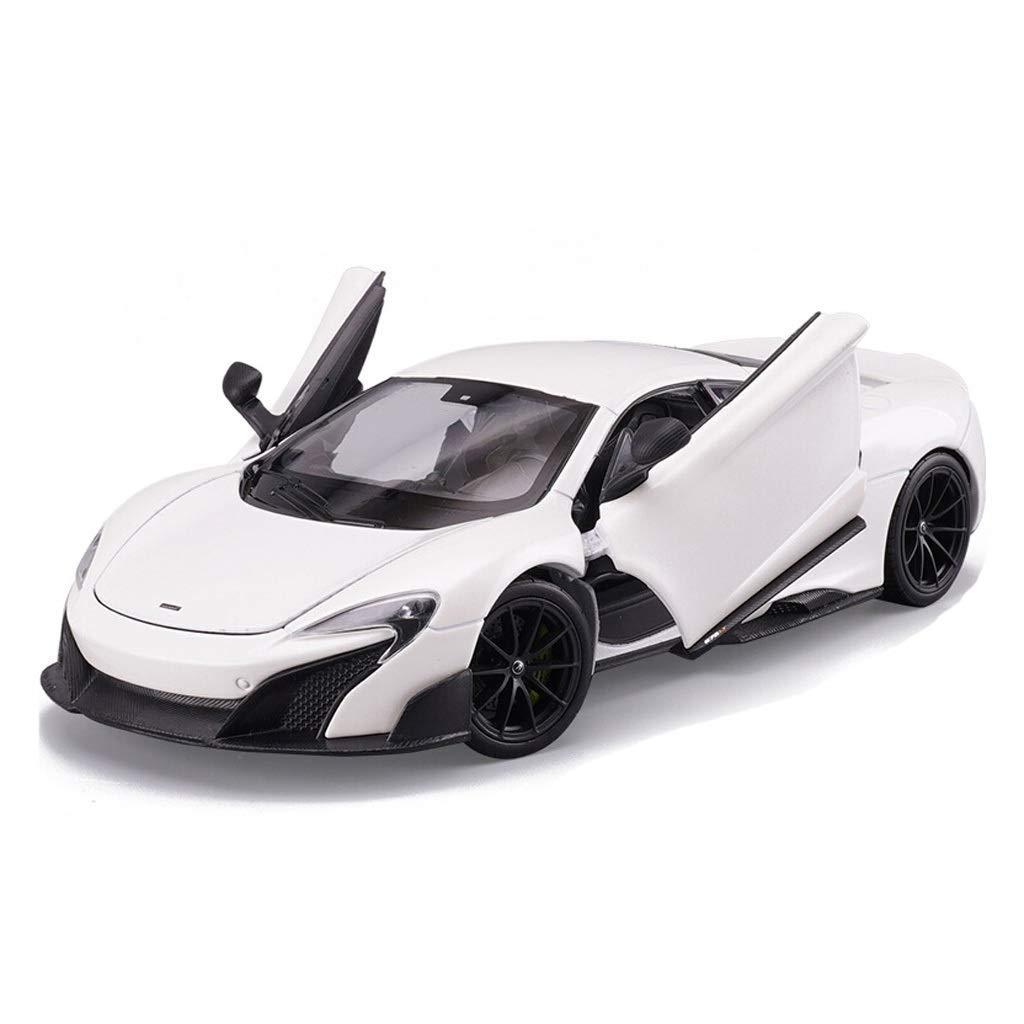tienda de bajo costo KaKaDz Wei KKD KKD KKD Escala Modelo Simulación Vehículo Polar Modelo blanco Coche McLaren 675LT Super Sports Car Simulación Aleación Coche Juguete Modelo 1 24 Colección Joyería Modelo Estático  punto de venta de la marca