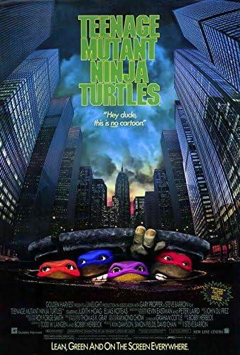 Amazon.com: Teenage Mutant Ninja Turtles: The Movie POSTER ...