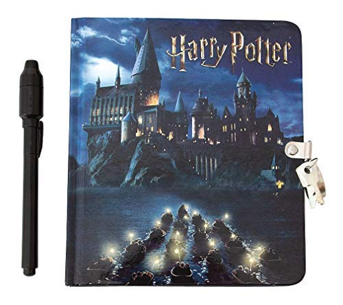 Playhouse Harry Potter Hogwarts Lock and Key Lined Page Diary with Invisible Ink Pen for Kids by Playhouse