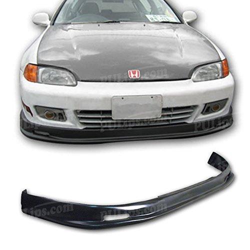 - PULIps HDCV922MUFAD - M-Spec Style Front Bumper Lip For Honda Civic 1992-1995 Coupe; Hatchback