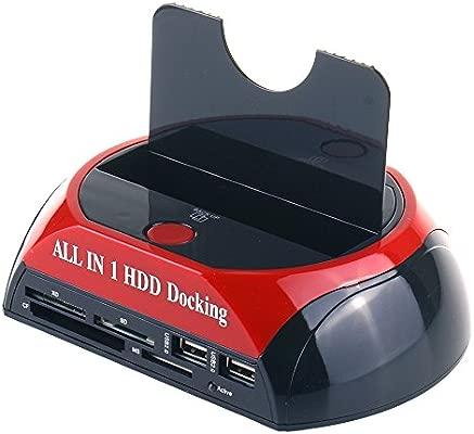 WANLONGXIN WLX-879U2C-FR USB 2.0 a SATA Disco duro Estación de ...
