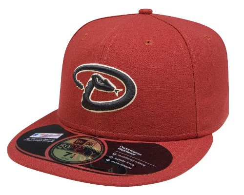 - MLB Arizona Diamondbacks Game AC On Field 59Fifty Fitted Cap-712