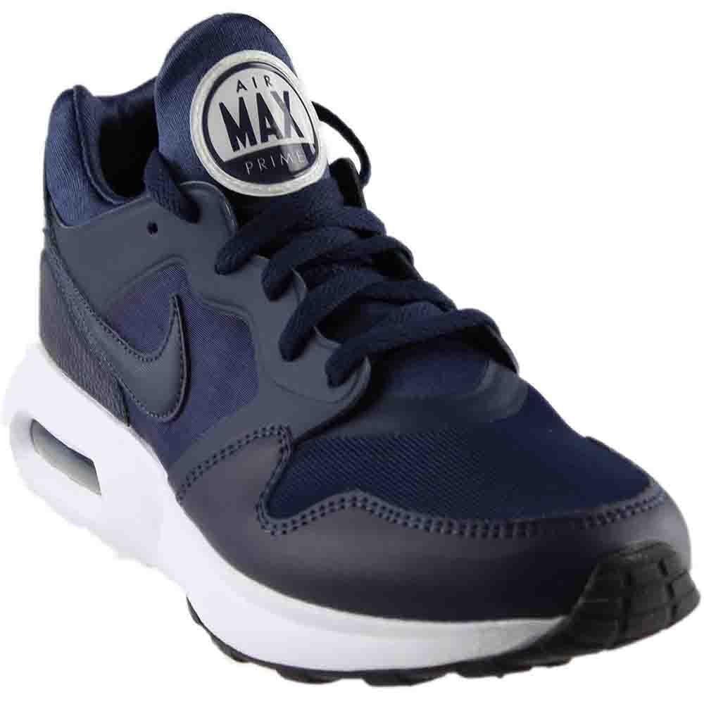 NIKE Men's Air Max Prime Running Shoe B004Y98M1W 8.5 D(M) US|Obsidian/Obsidian-white