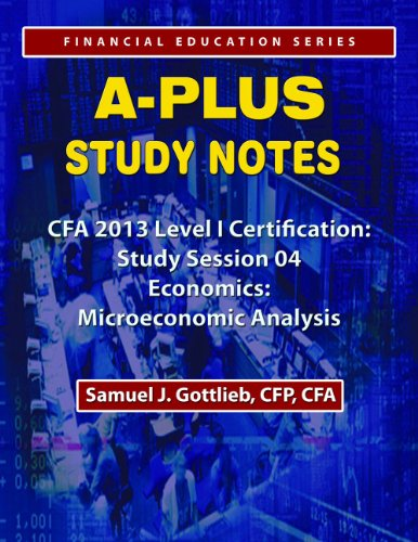 APSN CFA 2013 Level 1 Study Session