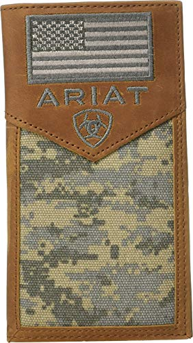 gital Camo Wallet, Brown, OS ()