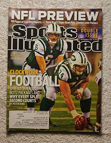 Mark Sanchez & Nick Mangold - New York Jets - Sports Illustrated - September 6, 2010 - NFL Preview - -