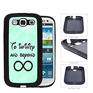 To Infinity And Beyond Mint Grunge Rubber Silicone TPU Cell Phone Case Samsung Galaxy S3 SIII I9300