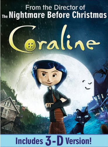 Coraline (Single-Disc Edition)[Anaglyph 3D] ()