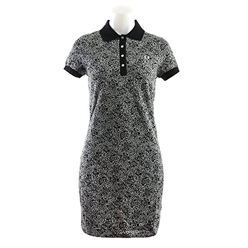Fred Perry Women's Rose Leopard Print Shirt Dress D4759-314 Multi SZ UK 8 / US 4 (Fred Perry Dress Shirt)