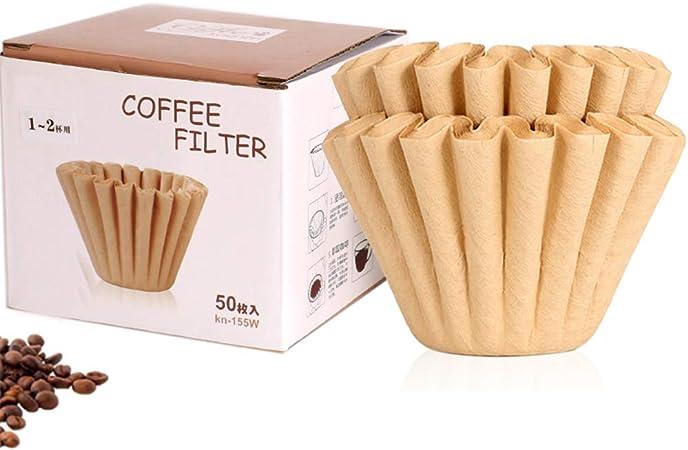Bartscher,50 Stk Melitta Animo Braune Korbfilter Kaffeefilter F/ür Bonamat