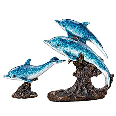 Dolphin Figurines - Set of 2