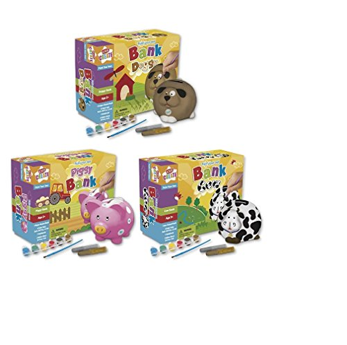 Paint Your Own Bank  Piggy Bank  Cow Bank  Doggy Bank  Doggy Bank