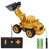 JoyGeek RC Truck Excavator, Remote Control Car Digger Toy Mini Construction 1:64 Vehicle Kids Gift