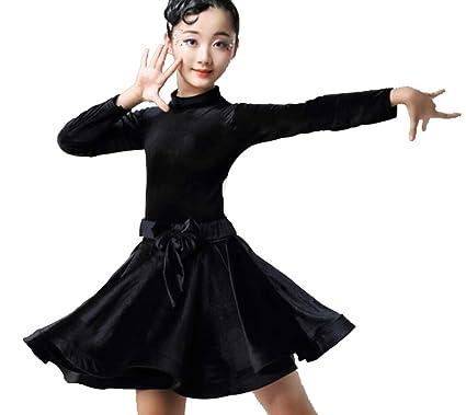 ZYLL Nuevos niños Niño Niñas Vestido de Baile Latino Ropa de ...