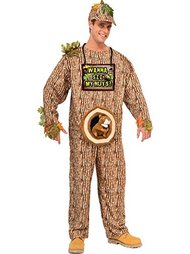 (Forum Novelties Men's Wanna See My Nuts Costume, Multi,)