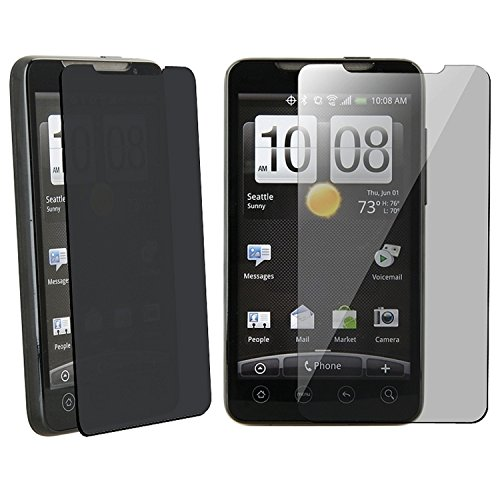 rotector Film Guard Cover for HTC Sprint Evo 4G Phone New By Electromaster ()