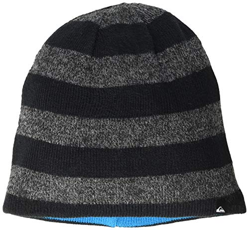 Quiksilver Little Reversible Stripe Beanie BOY, Black, 1SZ
