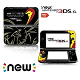 [new 3DS XL] Pokemon Charizard Black Limited Edition VINYL SKIN STICKER DECAL COVER for NEW Nintendo 3DS XL / LL Console System