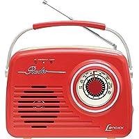 Rádio Áudio Retrô, Lenoxx RB 80, Vermelho