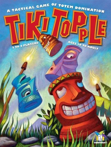 Tiki Topple, a Tactical Game of Totem Domination by Gamewright
