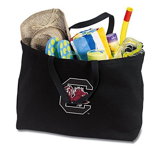 (Broad Bay Jumbo South Carolina Gamecocks Tote Bag or Large Canvas University of South Carolina Shopping Bag)