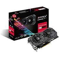 Asus ROG Strix Radeon RX 570 O4G Gaming AMD Graphics Card + AMD Gift