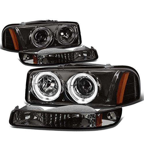 05 gmc sierra halo headlights - 2