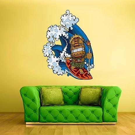 Amazon.com: Full Color Wall Decal Mural Sticker Decor Art Tiki Bar ...