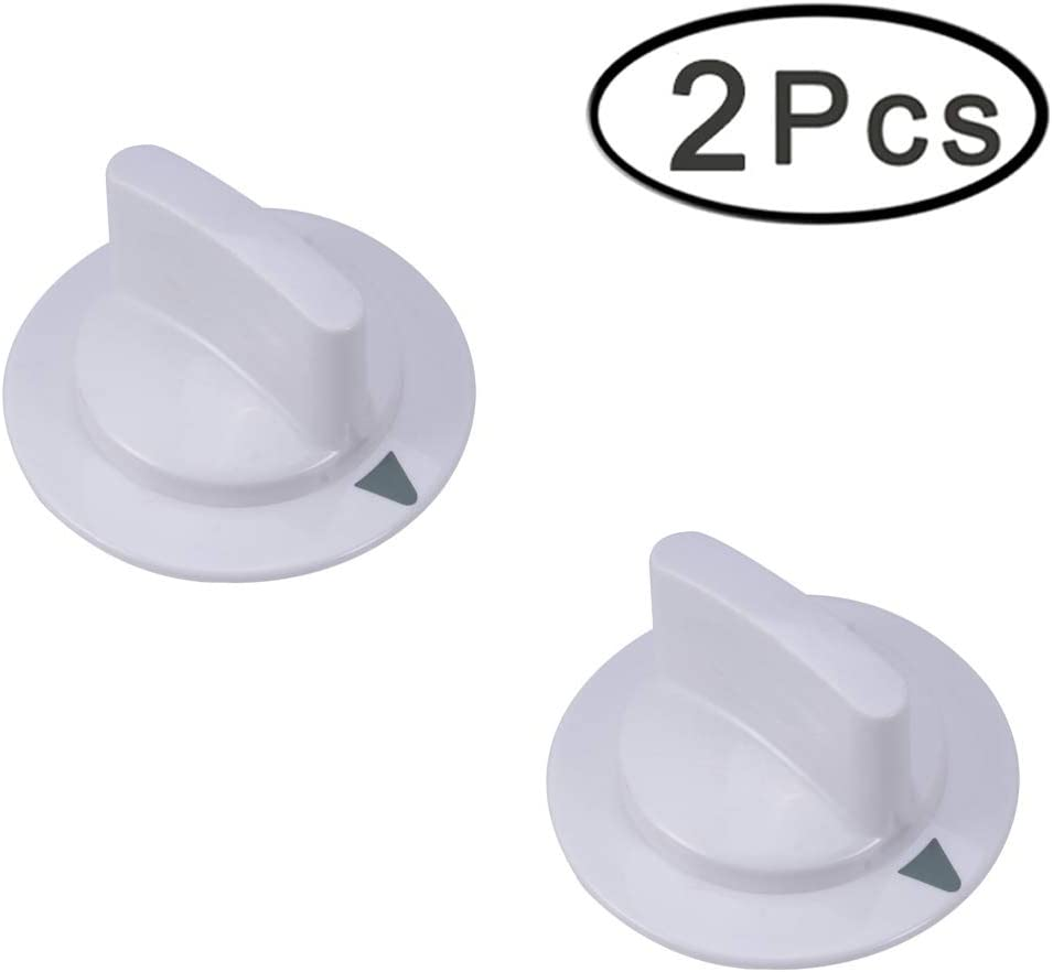 Ultra Durable WE1M652 Timer Control Knob Replacement for Hotpoint & General Electric Dryer - Replaces Part Numbers 212d1721 1264289 AP3995164 PS1482196 (2 Pack)